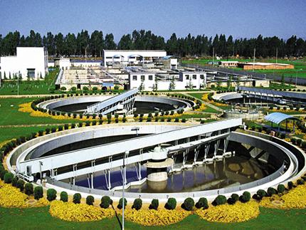北京高碑店污水处理厂工程