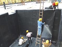 防水中埋止水带的安装施工